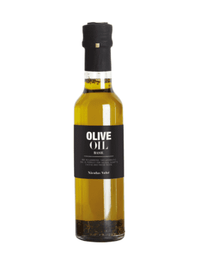 Nicolas Vahé Olive Oil with Basil 25cl