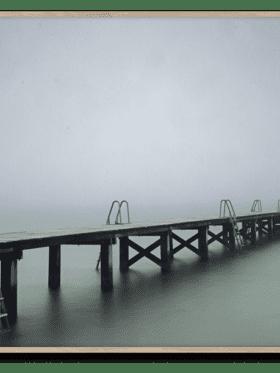 Papercollective 'Copenhagen Swim 02' Rakke Hass Christensen 50x70