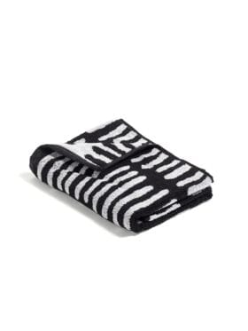 Hay He/ Black and creme Guest Towel 50x70