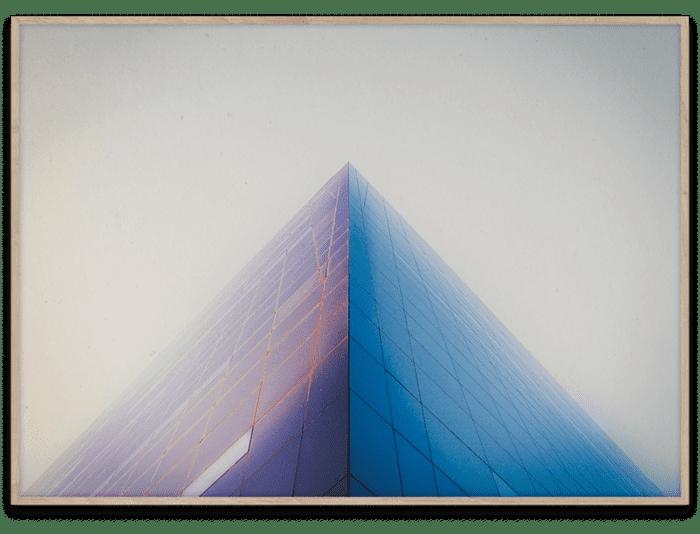 Paper Collective 'Black Diamond' av Max Madsen 50x70