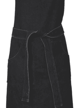 Au Maison Apron Ryan Almost Black