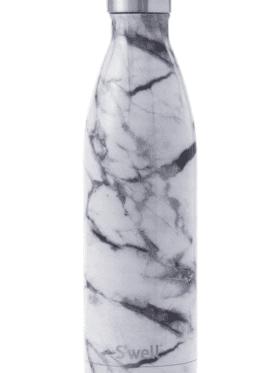 S'well Bottle White Marble 750ml