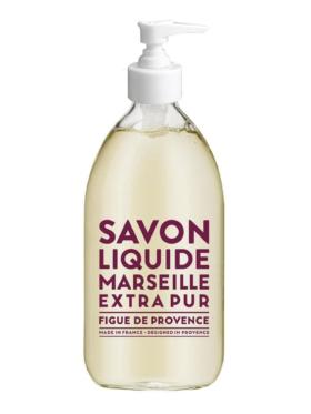 Savon Liquide Soap Figue De Provence Glass Bottle