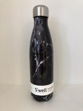 S'well Bottle Black Marble 500ml