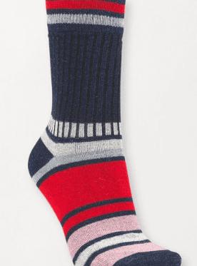 Becksöndergaard Daphne Block Sock Classic Navy