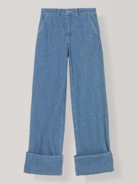 Ganni Suited Denim Bukse