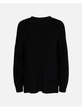 Moss Copenhagen Dalina Oneck Pullover Black