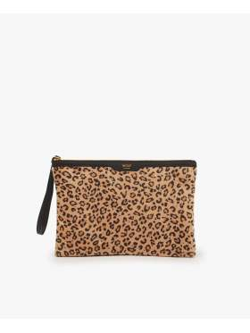 Wouf Safari Night Clutch Bag Leopard