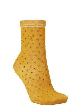 Becksöndergaard Darsi Shiny Dots Sock Golden Yellow