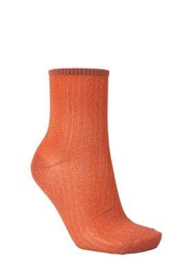 Becksöndergaard Dina Glitz Sock Russet Orange