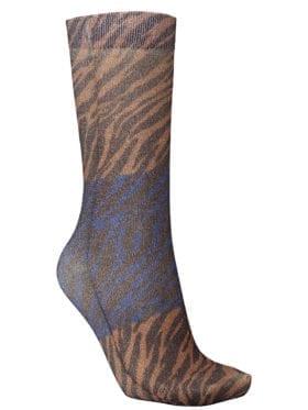 Becksöndergaard Dagmar Zebra Sock Brownish