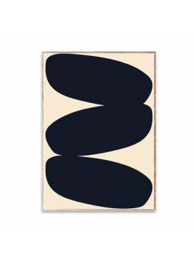 Paper Collective Nina Bruun Solid Shapes 30x40