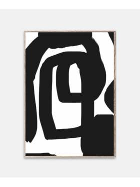 Paper Collective Nina Bruun Bold Lines 30x40