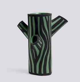 HAY Tree Trunk Vase Green