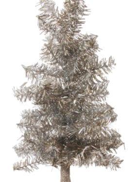 ShiShi  Tinsel tree aged silver glitter foot