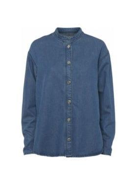 NORR Brandi Denim Shirt Blue