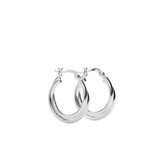 Pico Anine Hoops Silver