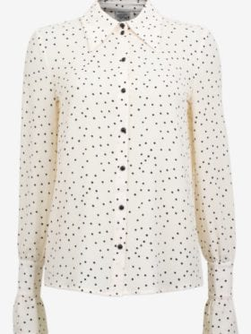 Baum und Pferdgarten Macy Blouse Cream Black Flying Dots