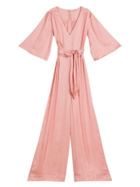 by TiMo Satin Jumpsuit Rose