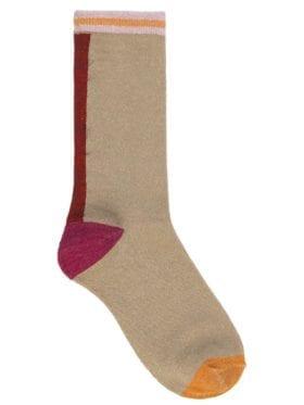 Becksöndergaard Dalea Mix Glitter Socks Red Love