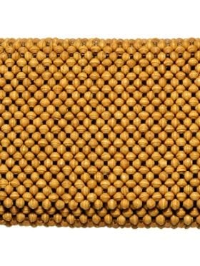 4 Africa Clutch Mustard Yellow