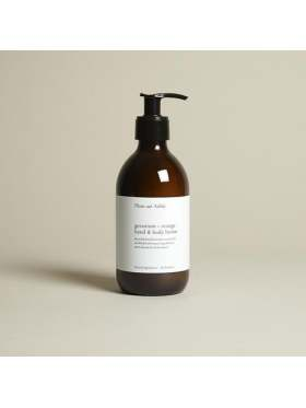 Plum & Ashby Geranium & Orange Hand and Body Lotion