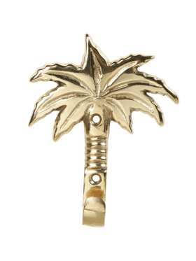 &k Amsterdam Palm tree hook brass