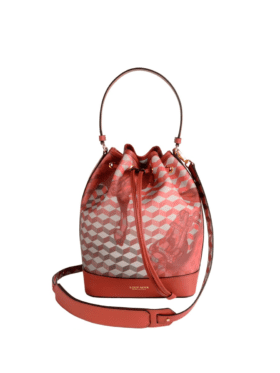 Loup Noir Bucket Bag Small Cheval Brandy