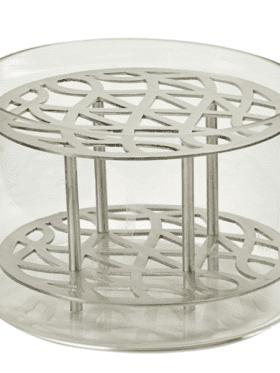 KLONG Äng Vase Silver S