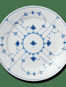 Royal Copenhagen Blue Fluted Plain Dinnerplate 27cm