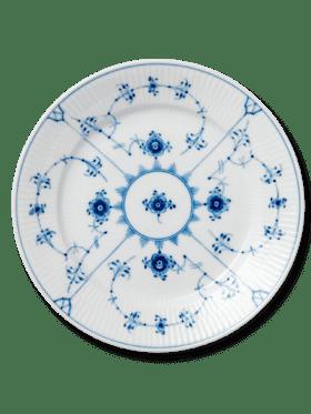 Royal Copenhagen Blue Fluted Plain Plate 22cm