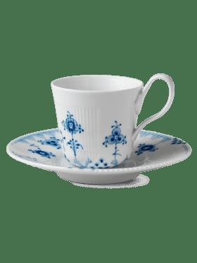 Royal Copenhagen Blue Elements Cup and Saucer 25cl