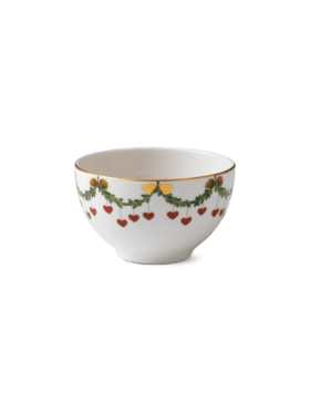 Royal Copenhagen Star Fluted Christmas Bowl 30cl