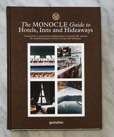 New Mags The Monocle Giude to hotels, Inns and Hideways