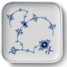 Royal Copenhagen Blue Fluted Plain Plate Square 9x9cm