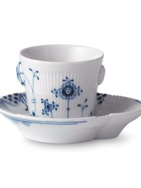Royal Copenhagen Blue Elements espresso and saucer 9cl