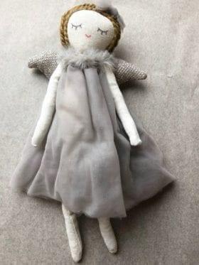 IB Laursen Hanging Angel Grey