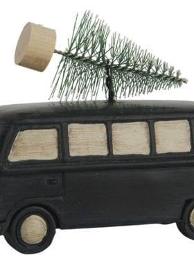 IB Laursen Car w/Christmas tree standing Black