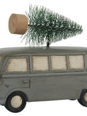 IB Laursen Car w/Christmas tree standing Grey