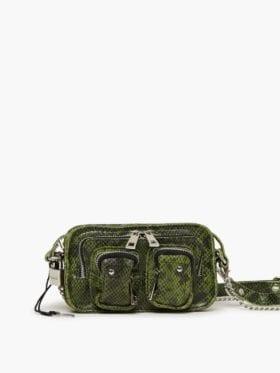 Nunoo Helena Snake Bag Green
