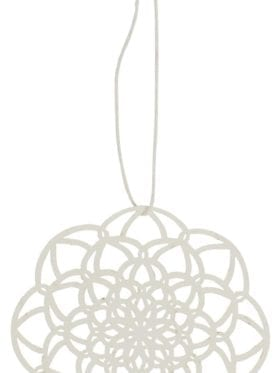 IB Laursen Papercut circle pattern