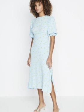 Faithfull Jean-Marie Midi Dress - Daria Floral Print