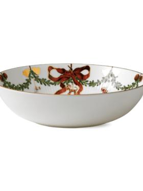 Royal Copenhagen Star Fluted Christmas Bowl 175cl