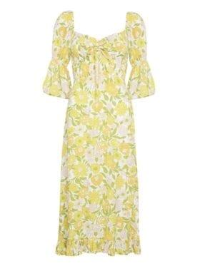 Faithfull Nora Midi Dress Jolene Floral Print