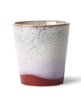 Hk Living Ceramic 70`s Mug Frost