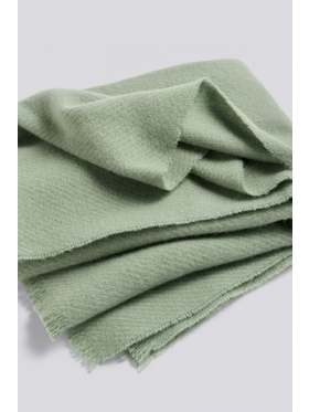 HAY Mono Blanket Verdigis Green
