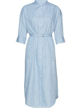 Second female Orlanda SS Dress Chambray Blue
