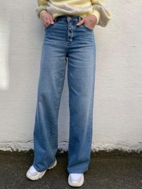 FIVEUNITS Abby Jeans Vintage Blå