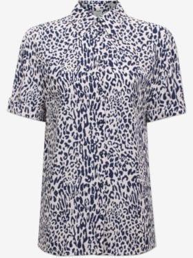 Baum und Pferdgarten Moanna Bluse Blå Leopard