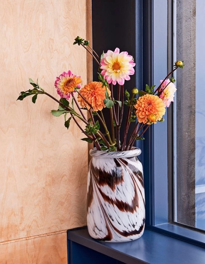 HAY Splash Vase Brun